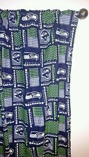 """NFL SEATTLE SEAHAWKS Curtain set 55""""W x 54""""L Things By Michelle Boutique"""