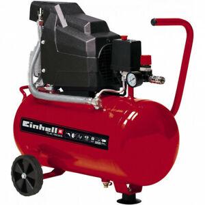 Compressore aria 24 litri 1500 W 2 HP Einhell TC-AC 190/24/8