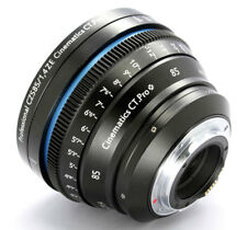 Customized cine lens Zeiss ZE 85mm F1.4 T1.5 ef for Canon 5d bmcc ursa raven a7s