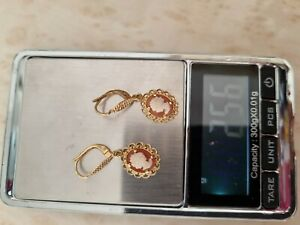 Camée or 18 carats