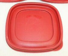 Rubbermaid Easy Find Replacement 7J64 Red Lid 6 1/2