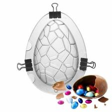 Fondant Cake Durable Dinosaur Easter Egg Shape Chocolate Mould Crystal Mold