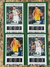 2019-20 PANINI CONTENDERS DRAFT PICKS SEASON TICKET GIANNIS ANTETOKOUNMPO LOT 4