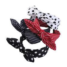 Women's Headband Hairband Bow Wide Knot Cross Tie Hair Band Hoop Accessories