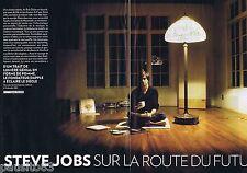 COUPURE DE PRESSE CLIPPING 2011 Steve Jobs  (12 pages)