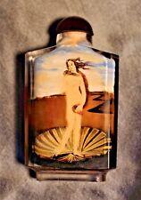 Chinese Republic Era Reverse Painted Glass Snuff Bottle (BottichellI's Venus)