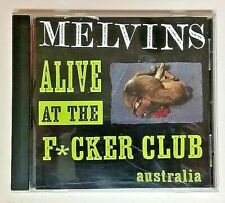 Melvins (Amphetamine Reptile CD Playtested) Alive At The F*cker Club Australia