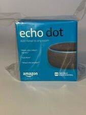 Amazon Echo Dot (3rd Generation) Smart Speaker with Alexa - Charcoal Black NEW
