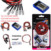 For 1/10 1/8 HSP TAMIYA CC01 4WD Axial SCX10 Flashing Lights Bright Strobe Lamps