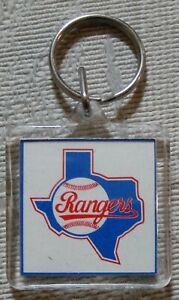 Texas Rangers Keychain Key Chain State
