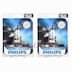 2 pc Philips H13PRB1 Vision Headlight Bulbs for Electrical Lighting Body zg