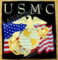 United States Marine Corps USMC Military Biker Back Patch