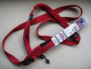 EZYDOG Shock Absorbing Road Runner Dog Lead -- RED 210cm EZY LRR25R Leash BNWT