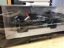 Mercedes Benz, Mercedes- Sauber C 9, Modellauto 1:18, dunkelblau, Norev