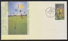 Christmas Island 1995 FDC 40th Anniversary Of Christmas Island Golf Course