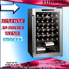 Hisense 29 Bottle Wine Cooler 29 Bottle HR6WC29 Bar Fridge !BOX DAMAGED!