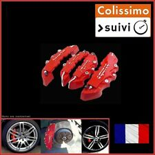 CACHE ETRIER FREIN TYPE BREMBO 3D ROUGE COMPATIBLE TUNING BMW X5 E53, E70