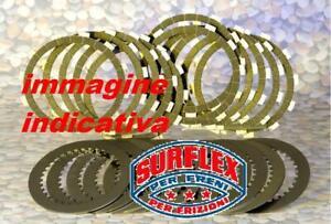 Kupplungsscheiben Getrimmt + Nudi Triumph Speed Triple 1050 2010-2010 SURFLEX