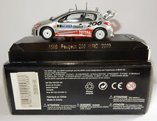 MADE FRANCE SOLIDO PEUGEOT 206 WRC 2002 N°2 RALLYE GRONHOLM RAUTIAINEN REF 1586