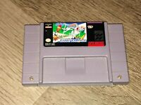 Bugs Bunny Rabbit Rampage Super Nintendo Snes Cleaned & Tested Authentic