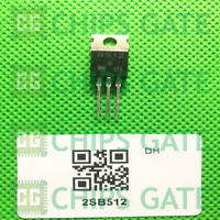 9PCS 2SB512 Encapsulation:TO-220,Silicon PNP Power Transistors