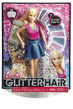 Barbie® Glitter Hair Gift Set With Doll and Stylish Outfit Clg18-stock in Hand