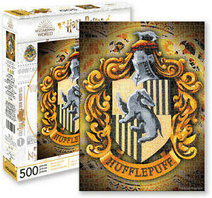 Harry Potter Hufflepuff Crest 500 piece jigsaw puzzle 350mm x 480mm (nm)