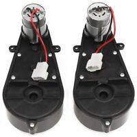 Motor Gearbox 2X12V DC Traxxas and Power Wheels High Speed Electric Car Children