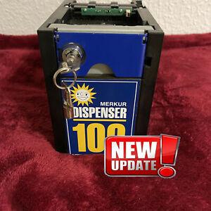 Merkur ADP Gauselmann Dispenser Update Akzeptor Geldspieler Spielautomat MD100