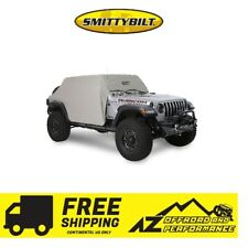 Smittybilt Cab Cover - Grey for 2018-2020 Jeep Wrangler Unlimited JLU 4 Door