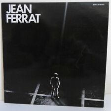 """33 RPM Jean Ferrat Disk Vinyl LP 12 """" La Common -barclay 80427"""