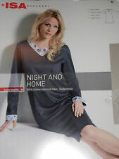 Gepunktete knielange Damen-Nachtwäsche aus Baumwolle