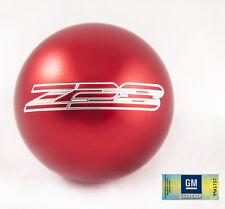 "82-02 Camaro Billet Aluminum Red Z28 Manual Shift Knob NEW 2.25"" M16x1.5"