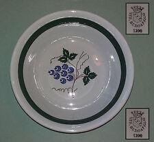 Piatto in Ceramica VEDOVA BESIO & FIGLIO Mondovì - Diam. 22,5 cm. - Ciotola
