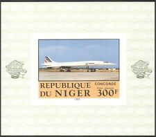 Niger 1983 Concorde/Aircraft/Aviation/Planes/Transport  IMPERF m/s (s2219)