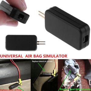 Car SRS Airbag Simulator Emulator Resistor Bypass Fault Finding Diagnostic Black