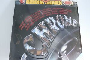 "Riddim Driven Chrome 12"" Vinyl Record Double Album Rap Hip Hop Reggae Various"