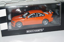 BMW 320i Streetversion 2005 orange 1:43 Minichamps neu & OVP400052400