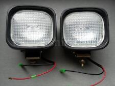 New 2x 24V Roof Fog Spot Light Halogen Lamp Bulb H3 70W Truck Lorry Agrimotor