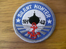 Embroidered Sew On Collectors Badge Silent Hunter 4 (Patch)