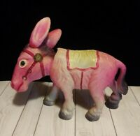 Vintage Occupied Japan Celluloid Bobble Head Donkey Must see! Look!