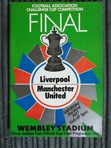 1977 FA Cup Final - Liverpool vs Manchester United