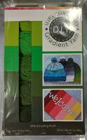 Premier DIY Gradient Yarn Box Lot of 3 Boxes Green 15 Skeins Total