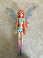 Winx Club Fairy Bloom Doll Plastic Figurine Figure Wings