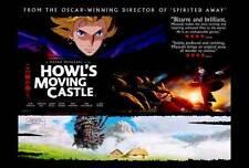 HOWL'S MOVING CASTLE Movie POSTER C 27x40 Chieko Baisho Takuya Kimura