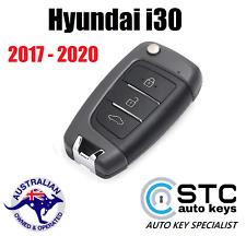 HYUNDAI i30 2017 2018 2019 2020 COMPLETE REMOTE TRANSPONDER CHIP FLIP KEY FOB