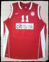 camiseta baloncesto Olympiakos basketball jersey Kleiza lietuva canotta basket
