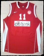 camiseta baloncesto Olympiakos basketball jersey greece lithuania canotta basket