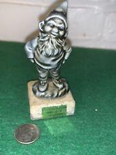 Vintage Connemara Marble Leprechaun Made In Ireland 3 1/4 Inches High