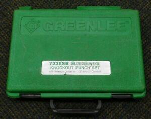 Greenlee Slug Buster Knockout Punch Set 7238SB